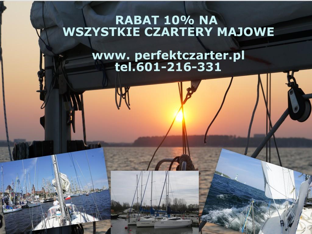 czarter jachtow baltyk  majowka promocja